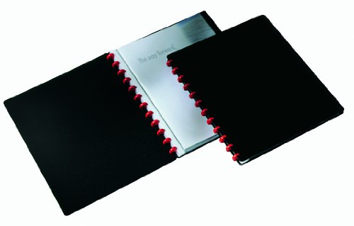 Durable Duralook Easy Display Book with 20 Removable Pockets A4 - Pack of 8 by OfficeMarket