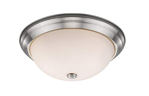 (Z-Lite 4001F15-MO-BN Athena 3 Light Flush Mount)