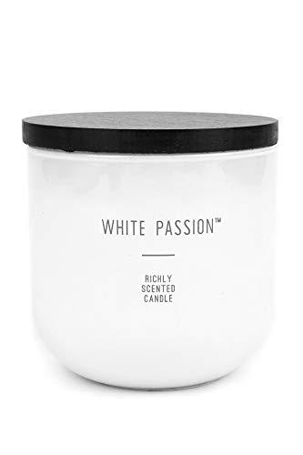 - Mardel Aromatherapy Jar Candle, White Passion, 14 Ounces, White