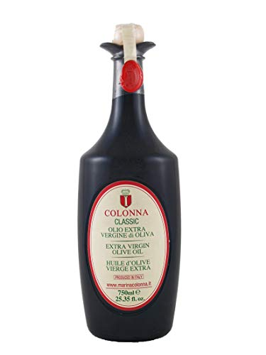 Colonna Classic Italian Extra Virgin Olive Oil by Marina Colonna | 2017 Harvest | 750ml (25.4 oz)