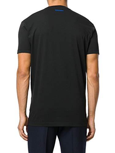 Dsquared2 S74gd0321s22427900 shirt Noir Coton Homme T pO0qp6w