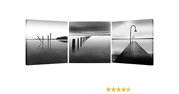 Amazon.com: Creative Art 3 Piece Canvas Wall Art Framed, Ocean ...