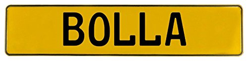 Vintage Parts 605098 Yellow Stamped Aluminum Street Sign Mancave Wall Art ()