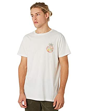 Banks Men's Seaside Mens Tee Cotton Polyester White
