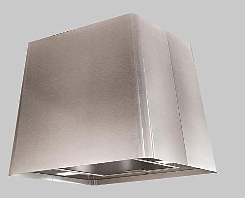 Campana extractora de acero inoxidable (45 x 45 cm, con ...