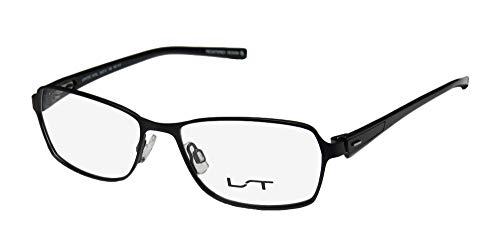 Lightec By Morel 7070l Mens/Womens Designer Full-Rim Flexible Hinges Stainless Steel Popular Shape Eyeglasses/Glasses (50-15-135, ()