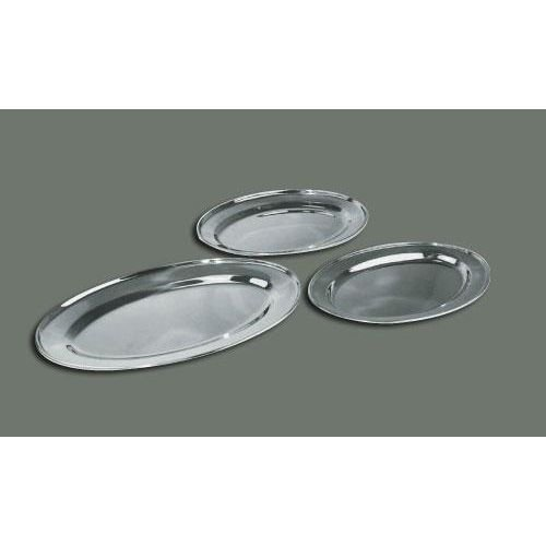 Winco OPL-20 Stainless Steel Oval Platter, 20-Inch by 13.75-Inch