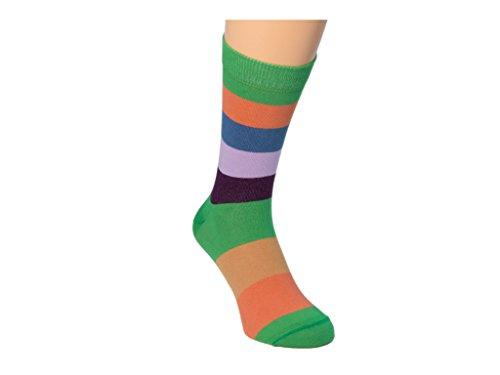 Mehrfarbig Hellgr para hombre multicolores Colori 40 Calcetines F6wqvn1