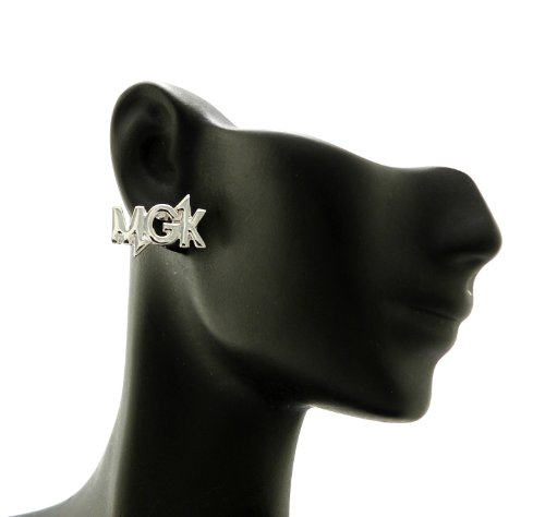 New Celebrity Style 'MGK' Machine Gun Piece Post Pierced Fashion Earring XE1107R