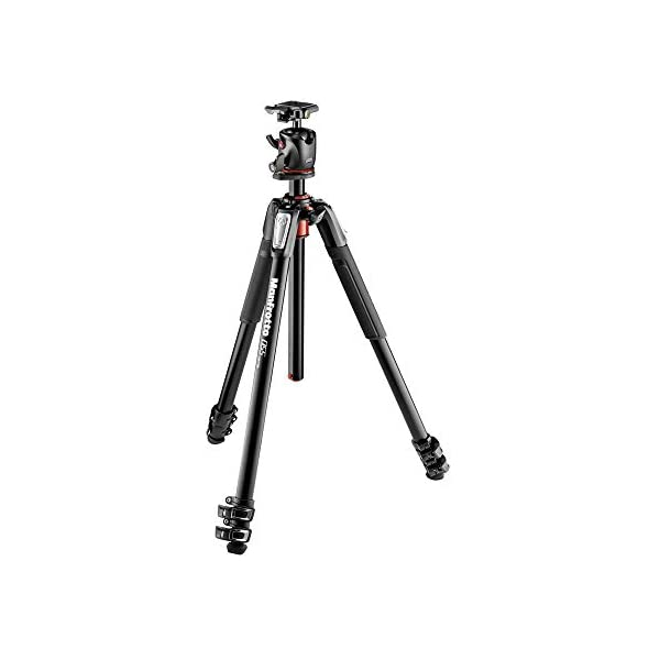 RetinaPix Manfrotto MK055XPRO3-BHQ2 Aluminum Tripod with XPRO Ball Head and 200PL QR Plate