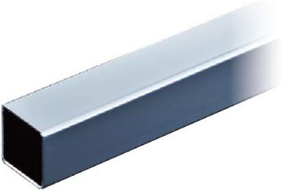パイオニアテック 25角パイプ クローム 取寄品 US25-900-CR