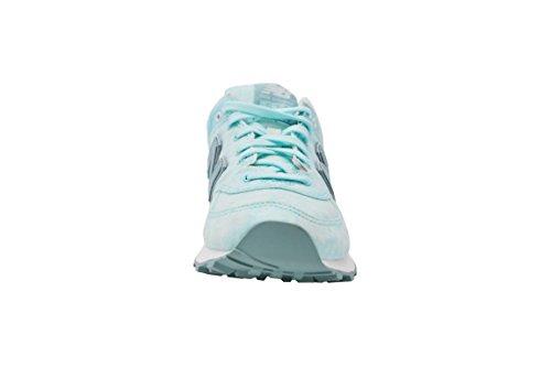 Nouvel Équilibre Damen 574 Sneaker Textile Turquoise