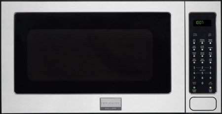 Frigidaire FGMO205KF Gallery Series 24' 2.0 cu. ft. Capacity Built-In Microwave Oven 1200 Watts 3 Auto Cook Options Sensor Cook 7 User Preference Options and One-Touch Options in Stainless