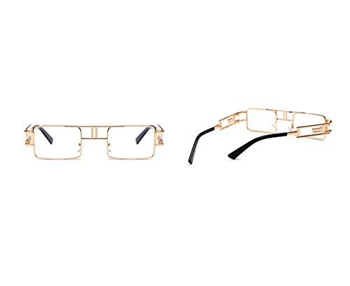 carrées classique de gothique lunettes Vintage C3 Twin soleil Beams petites Steampunk style polarisées non Yf07WqP7z