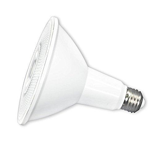 PAR38 LED Flood Light Bulb, IP65 Indoor and Outdoor Use,20W LED Flood Light Bulb (150W Equivalent), 1800lm, 4000K Pure White, 40 Degree Beam Angle, Medium Base(E26), Spotlight by ECOL