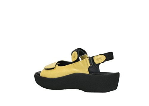 Jewel Leather Yellow 3204 Sandals Wolky Womens xw18qCYv