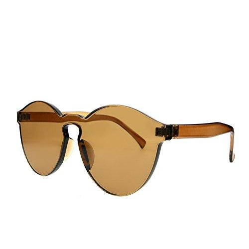 Unisex Gafas Gris de Sol BIGBOBA nbsp;mm Gafas 54×58×145mm Bordes sin Sol farbene de Amarillo nbsp;× 1 54 ftalatos ZnqSqR7I