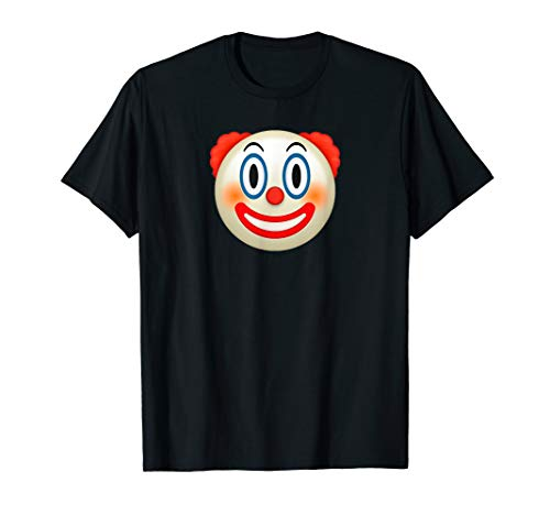 Cool Graphic Design Clown Emoji Face Funny T-shirt