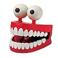 Jabber Jaws Toy Novelty Wind-up Chattering Dientes