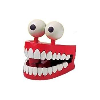 Amazon.com: Toysmith Chattering Teeth: Toys & Games