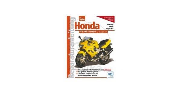 Reparación instrucciones Honda - 702.04.80 - Reparación instrucciones - Véase Texto - Honda VTR 1000 Firestorm - A partir de año 1997 - 5260 de: Amazon.es: ...