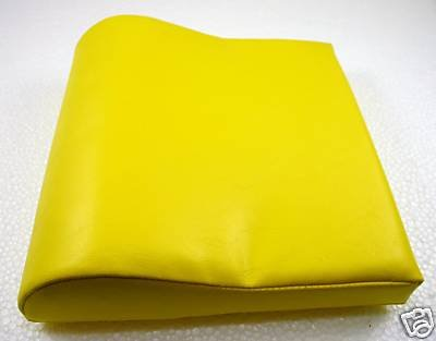 Deluxe Yellow Contour Vinyl Tanning Bed Pillow