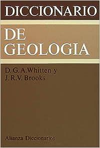 Book Diccionario de Geologia