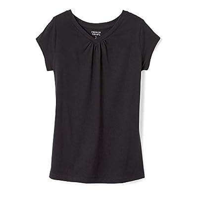 French Toast Girls' Short Sleeve V-Neck T-Shirt Tee