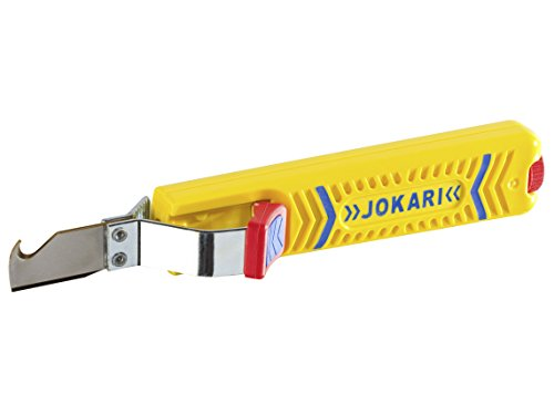Jokari 30161 Stripper for Thin PVC-Insulated Data Communication and Controller Connection Cables Multi-Coloured