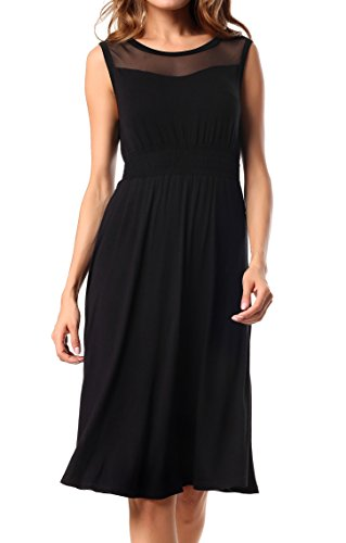 Costyleen Womens Summer Sleeveless Cotton