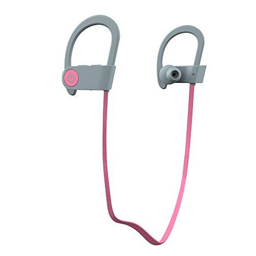S3 Headphones (Bluetooth Headphones Romix S3, Wireless Apple Headphone with Microphone, Best Sports Earphones, Samsung IPhone Headphone (Pink))