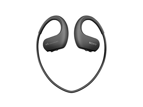 SONY Walkman headphone integrated NW WS414 Black product image