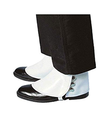 Forum Novelties Deluxe White Spats -