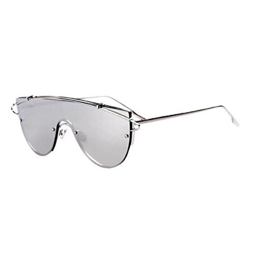Sol Playa QZ Vintage Estilo Color Espejo 4 Moda Gafas UV 2 Protección Harajuku De HOME De wtqzxtnvSr