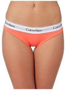 Calvin Klein Modern Classic Logo Cotton Bikini