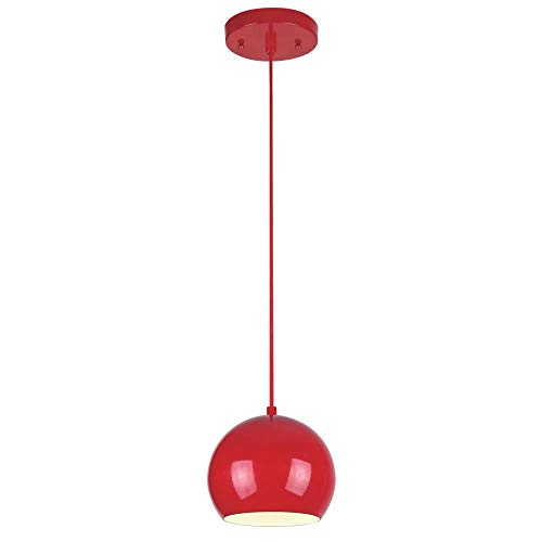 Kitchen Pendant Light Red in US - 2
