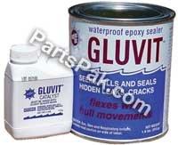 GLUVIT EPOXY WATERPROOF 8 lb by Marine Tex (Image #1)