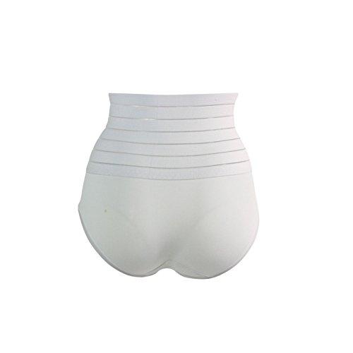 Glamexx24 - Braguitas moldeadoras - para mujer blanco