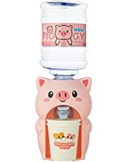 Mini Vattendispenser Med Vattenhink, Dryckesdispenser, Mini Cute Frog Piggy Water Dispenser, Mini Desktop Water Dispenser För Hemmakontor Student Dorm Kids Gift