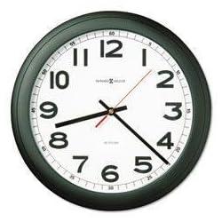 MIL625320 - Wall Clock, Glass Lens - Howard Miller Norcross Auto Daylight-Savings Wall Clock - Each
