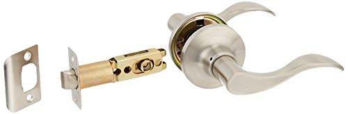 Constructor CON-PRE-SN-PS Prelude Passage Lever Door Lock  with Knob Handle Lockset, Satin (Nickel Lockset)