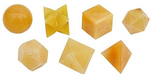 orange calcite wand - 4