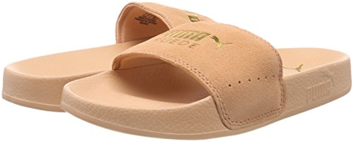 Team Puma Unisexe puma 07 Chaussures Orange Gold Daim Plage De Coral Piscine Adulte En Et Leadcat dusty qwr6R