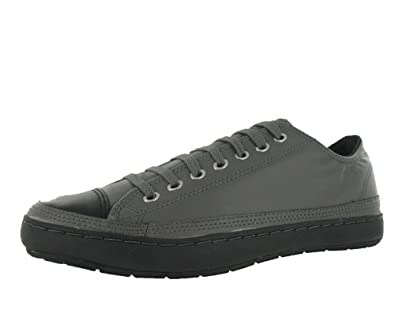 b9c3516619ee Converse Men S All Star Chuck Taylor Premiere Leather Ox Casual Shoe Black