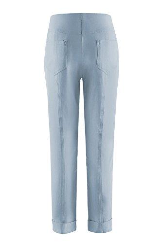 3729 Pantaloni Dustyblue Stehmann Stehmann Donna Pantaloni FvZwaYqF