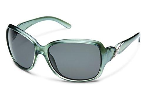 Suncloud Weave Polarized Sunglass with Polycarbonate Lens, Smoke Back Paint (Smoke Gray Sunglasses)