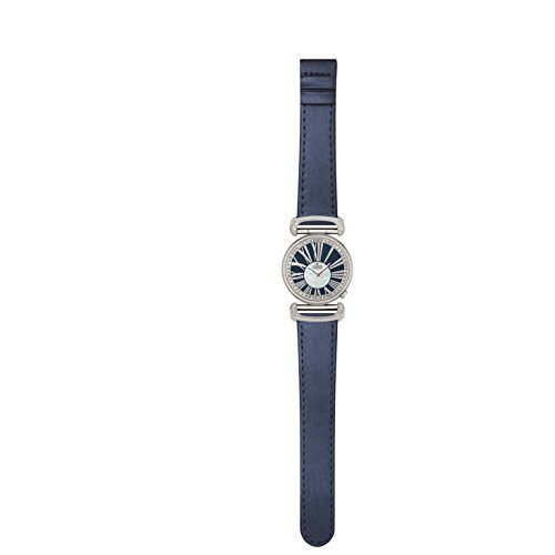 Charmex Malibu 6283 32mm Stainless Steel Case Blue Calfskin Synthetic Sapphire Women's Watch