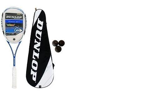 Dunlop Aerogel PRO GT - Raqueta de squash + 3 pelotas de ...