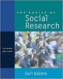 The Basics of Social Research (with InfoTrac) by Earl R. Babbie (2001-07-16)