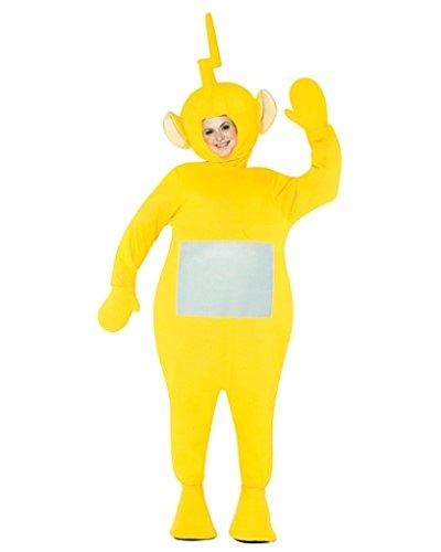 Adult size Teletubbies Costume - Laa Laa - Adult Laalaa Teletubbies Costumes